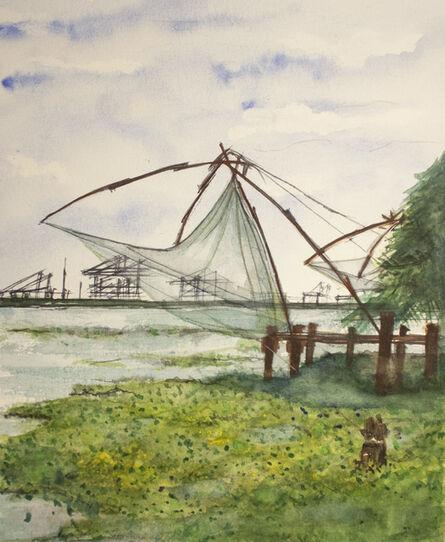 Carlos Giordano Giroldi, 'Fishermen's net', 2020