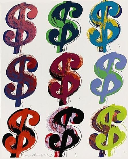 Andy Warhol, 'Dollar Sign (9) FS II.286', 1982