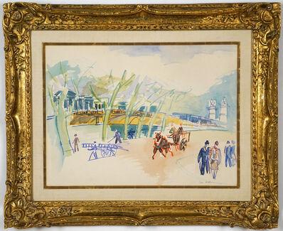 Jean Dufy, 'Au Bord de la Seine'