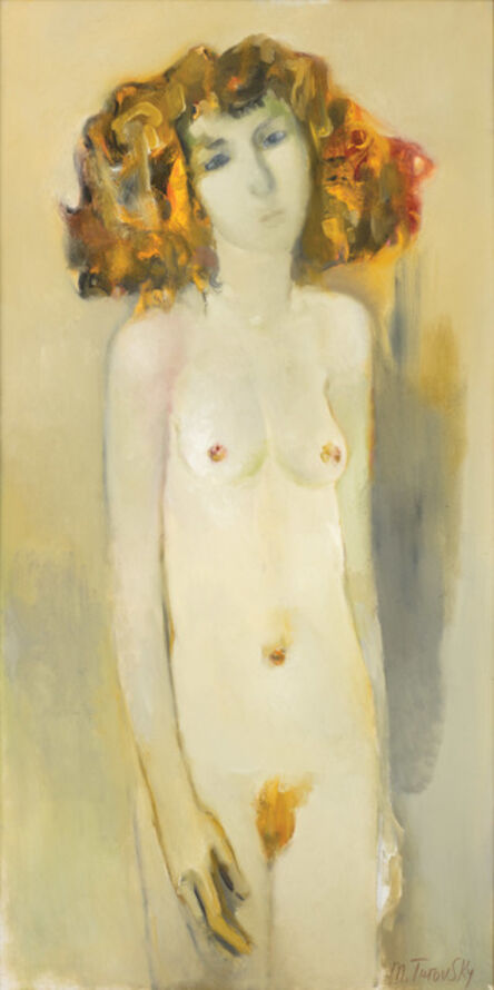 Mikhail Turovsky, 'Red Haired Standing Nude', 2016