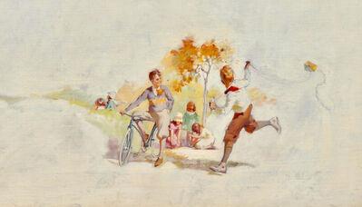 Haddon Sundblom, 'Kids Flying a Kite, Magazine Advertisement, Cream of Wheat, 1926', 1926