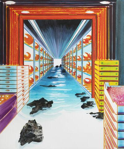 John Kørner, 'Flooded Supermarket', 2020