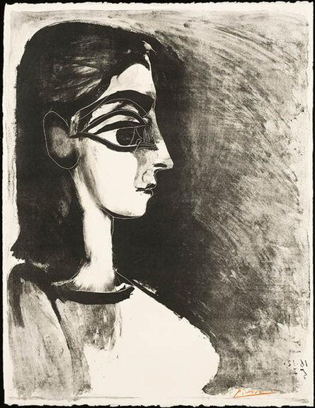 Pablo Picasso, 'Buste de Profil', December 16-1957