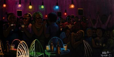 Moke, 'Bar Nocturne', 1981