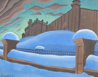 Joseph Plaskett, 'Penitentiary, New Westminster', 1947