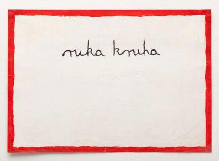 Mladen Stilinovic, 'Ruka kruha (Hand of Bread)', 1974
