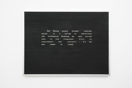Joachim Coucke, 'The new order of things', 2014