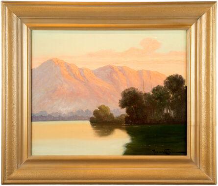Benito Ramos Catalan, ''Chilean Mountain  Landscape,' Oil on Linen by Benito Ramos Catalan.  ', ca. 1950