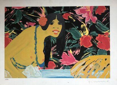 Salvatore Fiume, 'Omaggio alla Polinesia', 1980