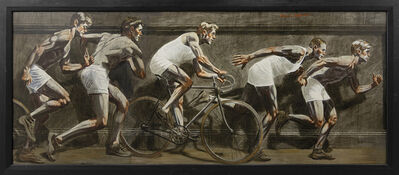 Mark Beard, '[Bruce Sargeant (1898-1938)] Frieze with Five Athletes', n.d.