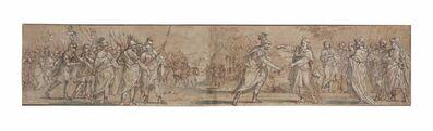 Giacinto Gimignani, 'Moses presenting the Baton of Office to Joshua'