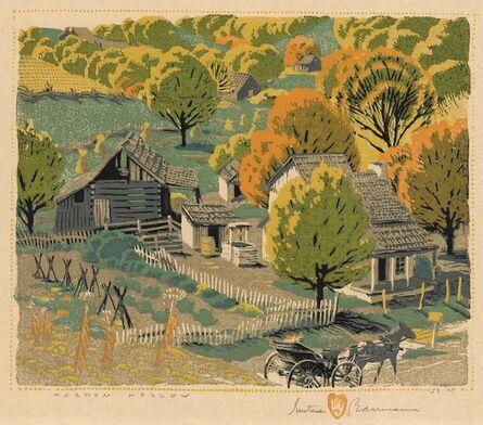Gustave Baumann, 'Harden Hollow.', 1927
