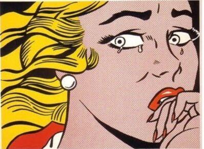 Roy Lichtenstein, 'Crying Girl', 1963