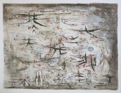 Zao Wou-Ki 趙無極, 'Ciel de Paris', 1954