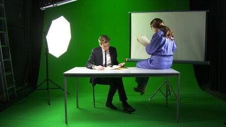 Kerstin Honeit, 'Talking Business', 2015