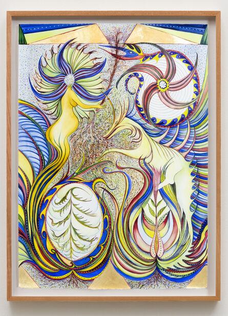 Faith Wilding, '3 Dragons, 1 Goddess', 2020