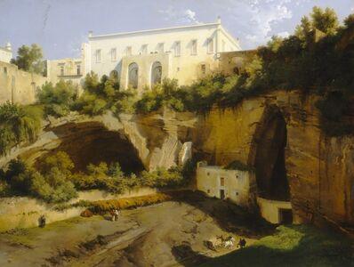 Lancelot-Théodore Turpin de Crissé, 'View of a Villa, Pizzofalcone, Naples', ca. 1819