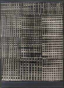 Heinz Mack, 'Dynamische Struktur Schwarz-Weiß', 1959