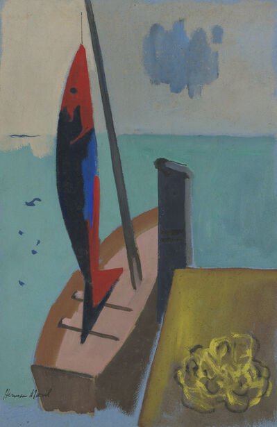 Herman Maril, 'Catch of the Day', 1964
