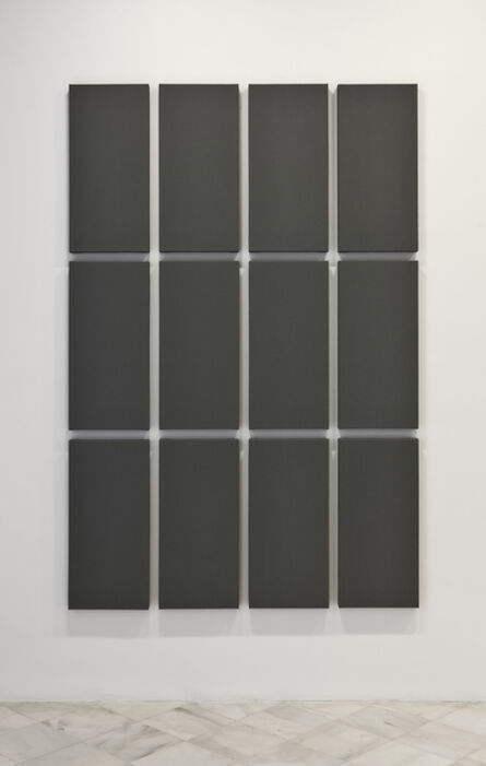Alan Charlton, 'Grid Painting '3 x 4'', 2009