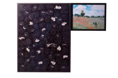 Benni Efrat, 'Claude Monet', 1974