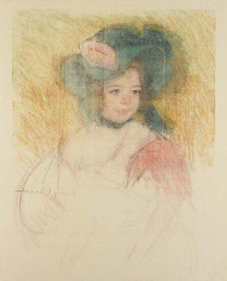Mary Cassatt, 'Margot in a Bonnet', ca. 1905-15