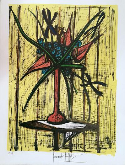 Bernard Buffet, 'Anthuriums et Iris', 1981