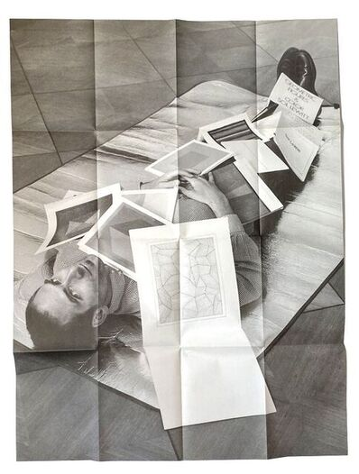 Jonathan Monk, 'If you stare at a page long enough It starts to move, SIGNED', 2001