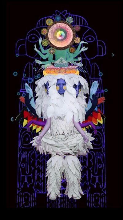 Saya Woolfalk, 'Chimera from the Empathic Series', 2013