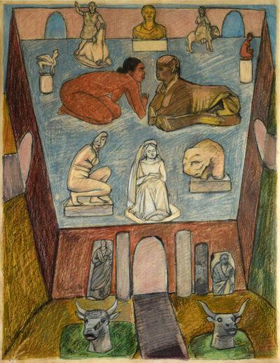 Mequitta Ahuja, 'Sphinx I', 2014