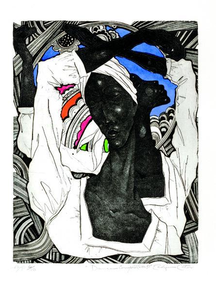 Eldzier Cortor, 'Dance (Dance Composition No. 31)', 1978
