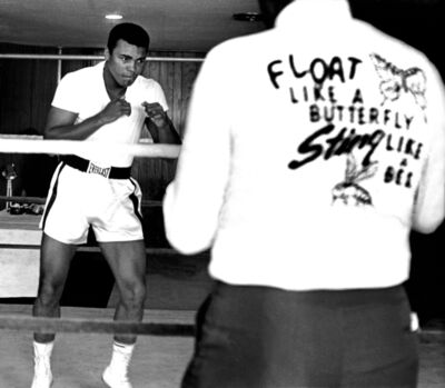 Harry Benson, 'Ali Float Like a Butterfly, Miami', 1964-Printed Later