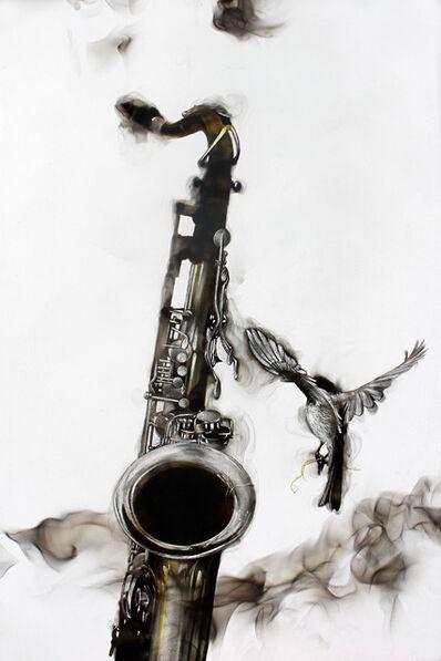 Steven Spazuk, 'Smoky Saxophone', 2015