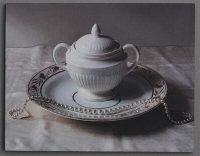 Lucy Mackenzie, 'Wedgewood Pot and Pearls 2014', 2014