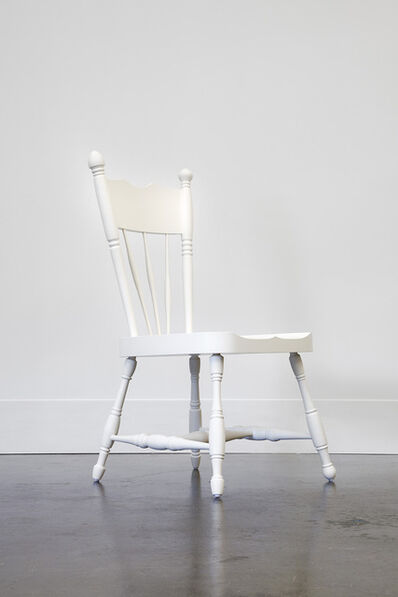 Roy McMakin, 'A New White Chair from a Dark Old House', 2014