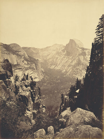 Carleton E. Watkins, 'The Domes from Moran Point', 1880