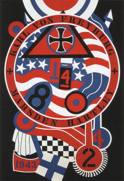 Robert Indiana, 'The Hartley Elegies KvF II', 1990