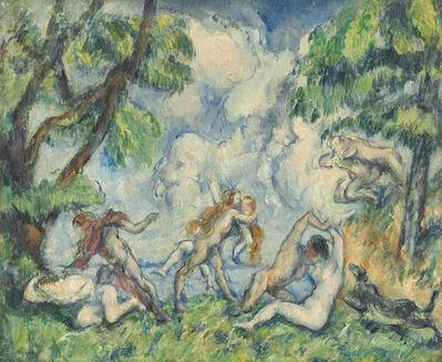Paul Cézanne, 'The Battle of Love', 1880