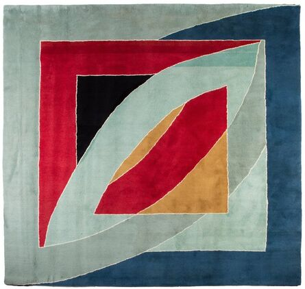 Frank Stella, 'River of Ponds Tapestry', 1971