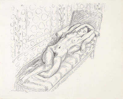 Henri Matisse, 'La sieste', 1922
