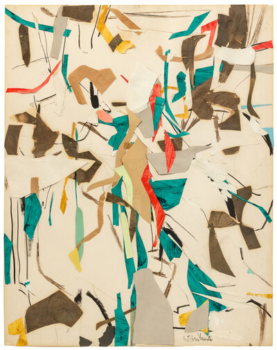 Esteban Vicente, 'Rhythms', 1952