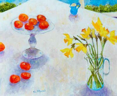 Sue Fitzgerald, 'The Studio Table in Spring', 2018