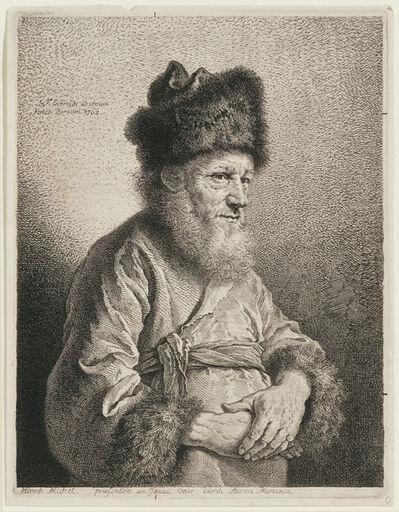 Georg Friedrich Schmidt, 'Hirsch Michel', 1762