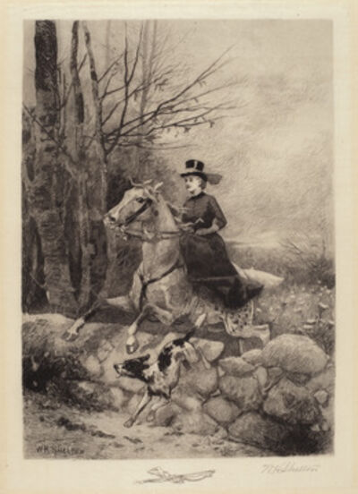 William Henry Shelton, 'After the Hounds', 1886