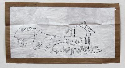 Osías Yanov, 'Sin título (curvar el hierro)', 2013