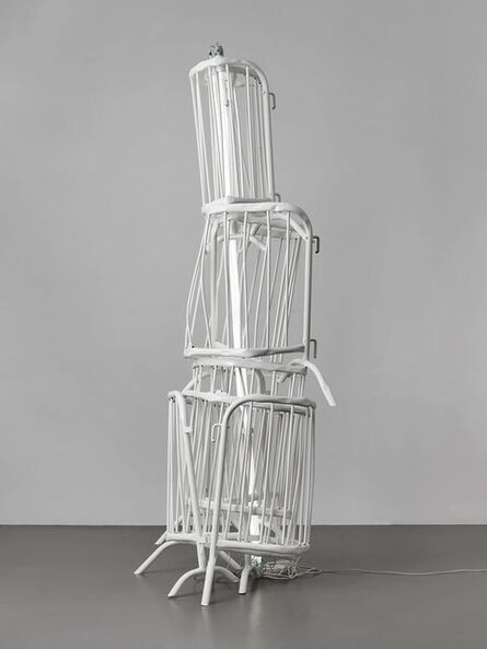 Bettina Pousttchi, 'Double Monument for Flavin and Tatlin XIV', 2014