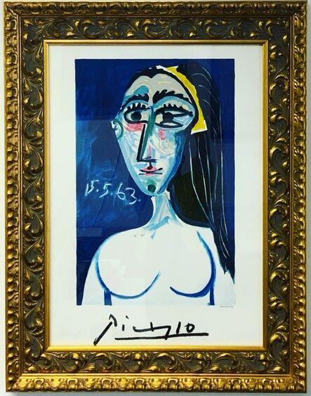 Pablo Picasso, 'Buste de Femme Nue Face ', 1979-1982