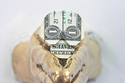 Eugenio Merino, 'In God We Trust Everyone Else Pays Cash - Skull', 2015
