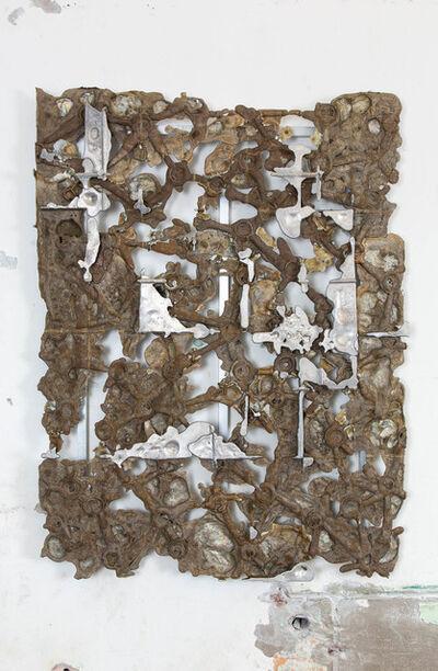 Nicolas Lobo, 'Bio-foam Aluminum pour(Natural Ice version 1)', 2015