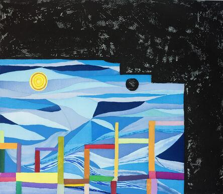 Chris Johanson, 'ABSTRACT ART WITH COSMIC NARRATIVE', 2014